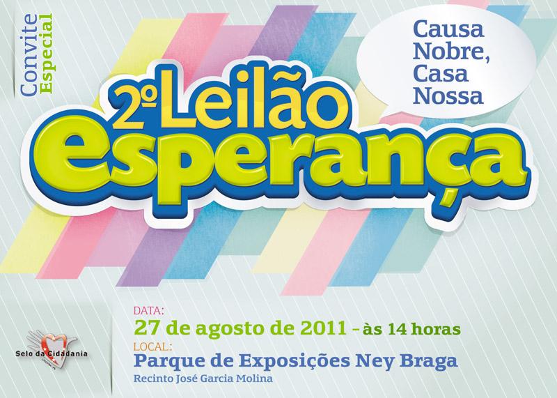Leilão Esperança